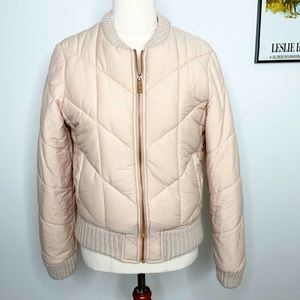 Seed Heritage Pink Puffer Jacket Size 6